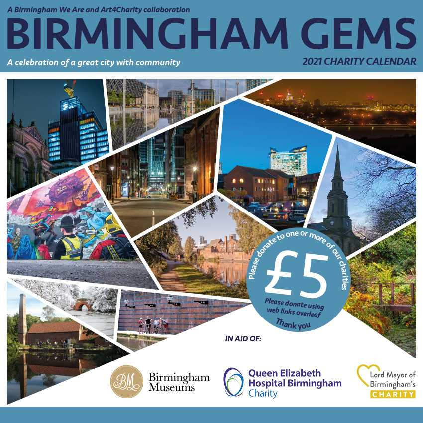 Birmingham Gems Charity Calendar 2021 - Collect or Download & Print