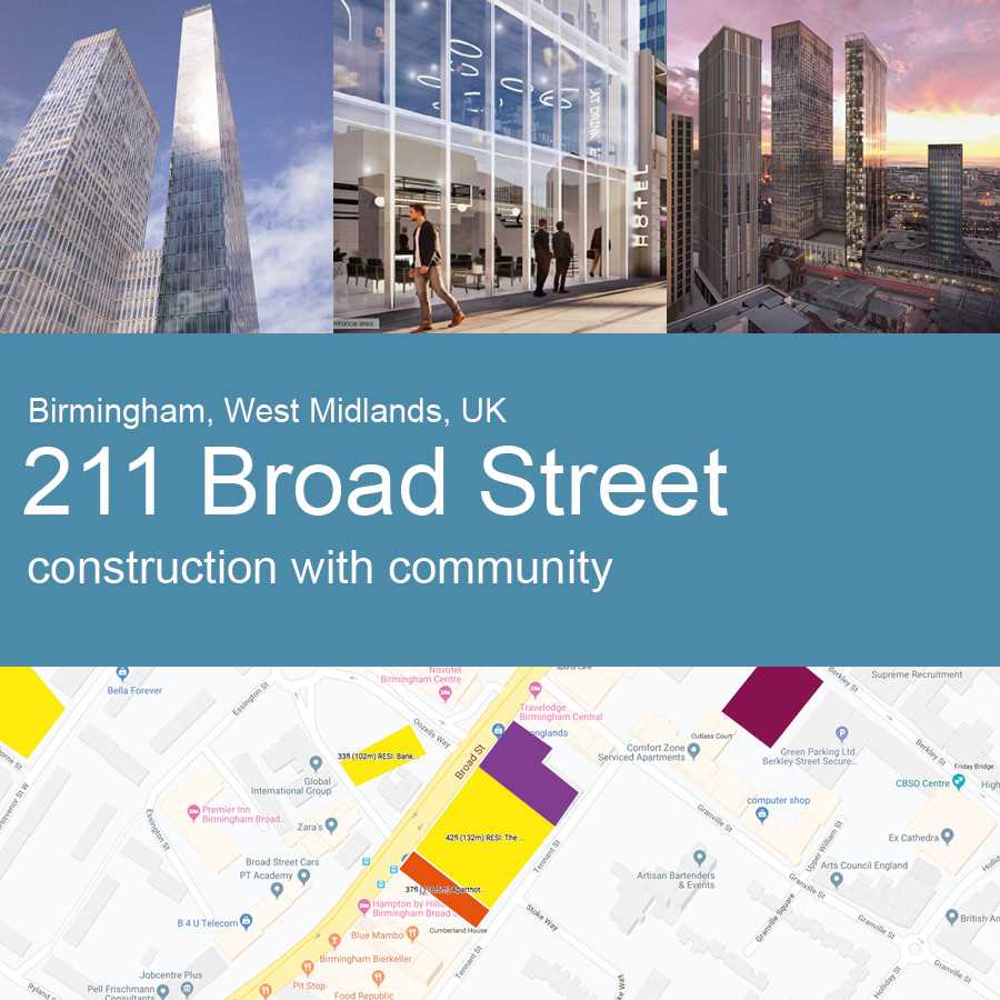 211+Broad+Street%2c+Birmingham%2c+UK+-+Construction+with+Community