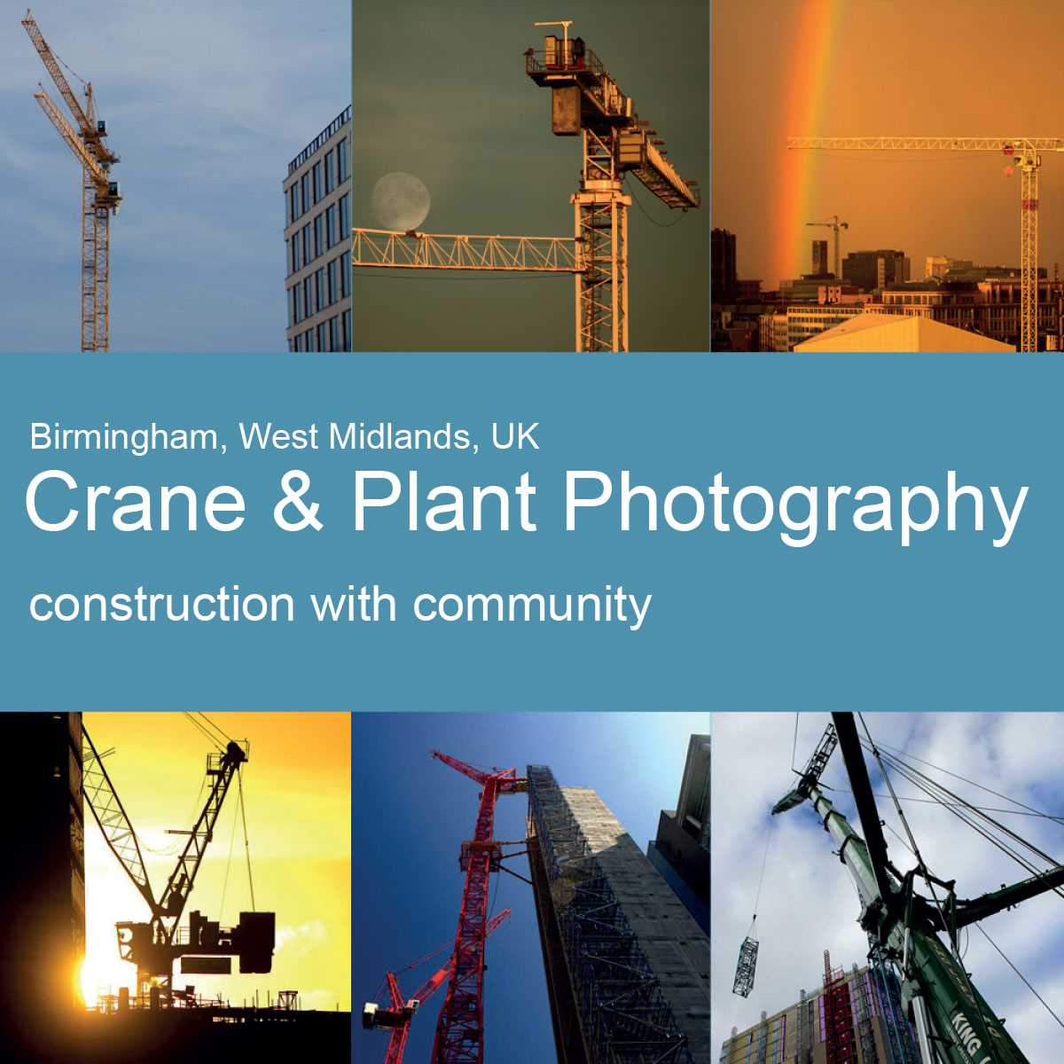 Crane and Plant photography - A community project