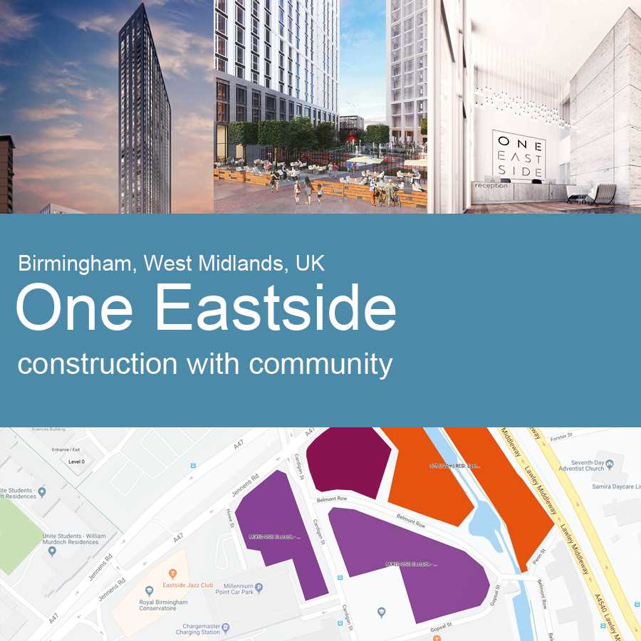 One Eastside, Birmingham - Artist's Impression