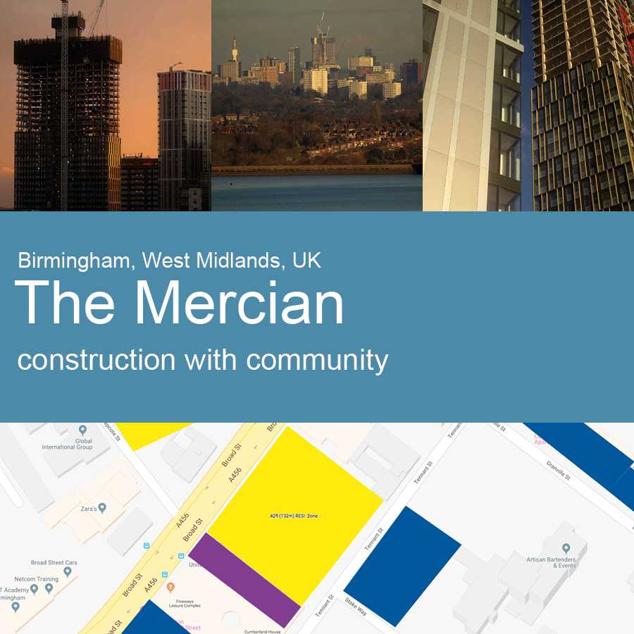 The Mercian, Birmingham, UK - Construction with Community