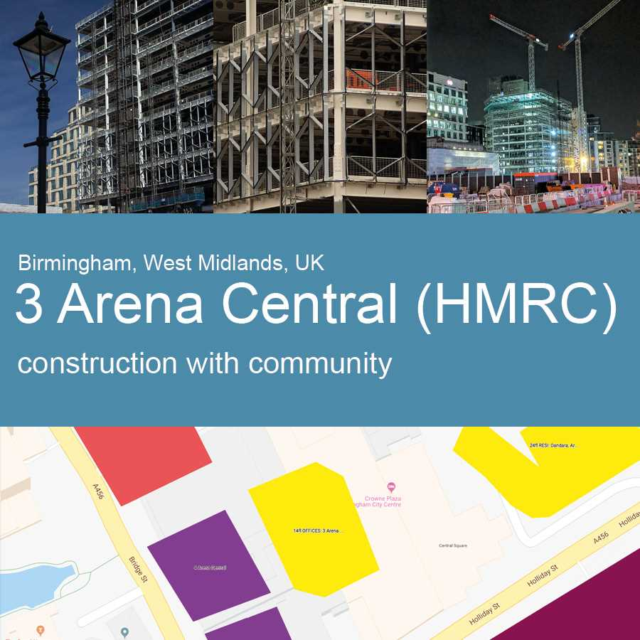 Three+Arena+Central%2c+Birmingham+-+Construction+with+Community