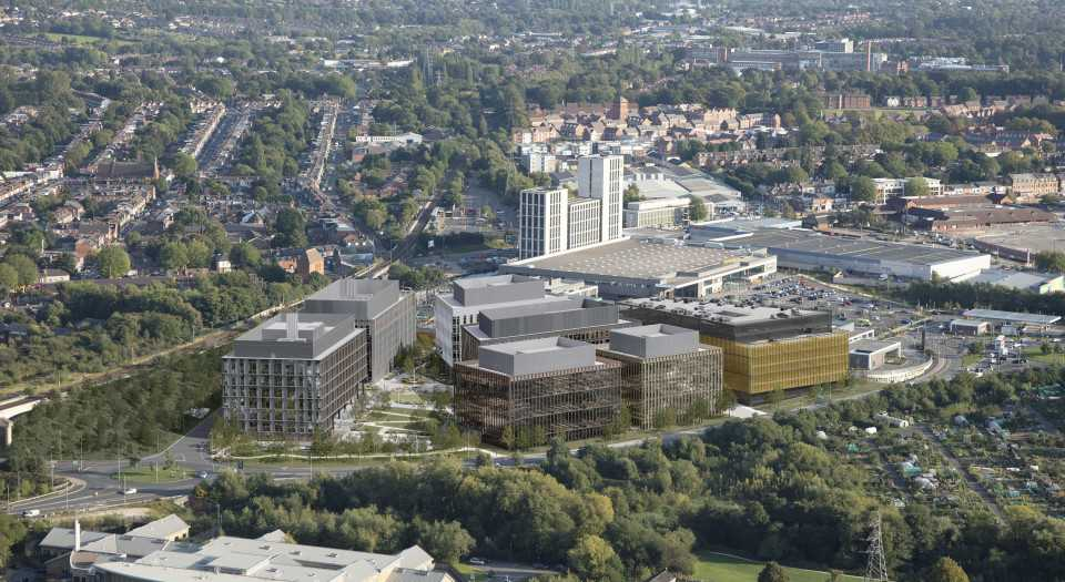 Birmingham Health Innovation Campus, Selly Oak, Birmingham - Construction with Community