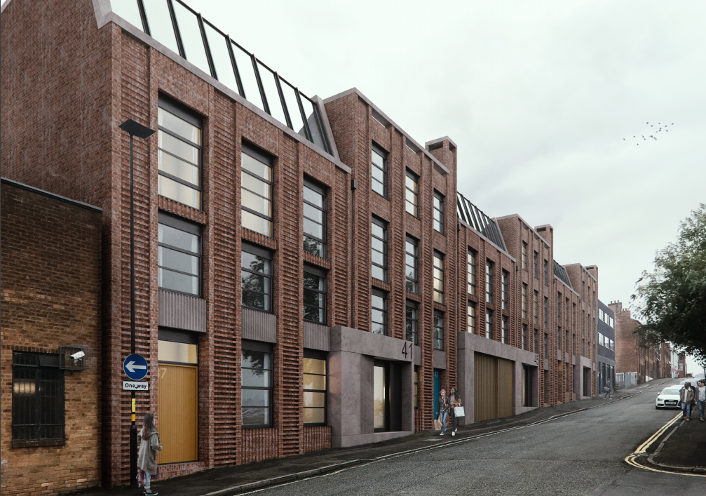 Photographic Works, 37-55 Camden Street, Birmingham - Construction with Community