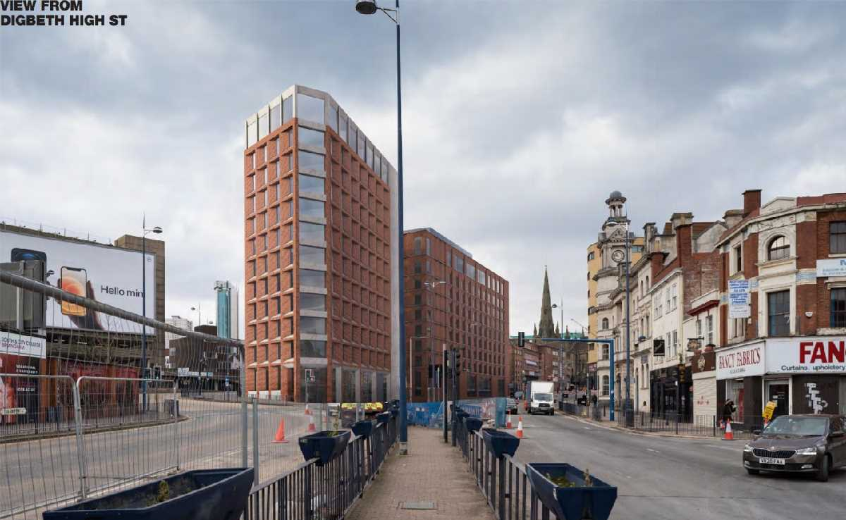 Smithfield & Wolverley House, Digbeth, Birmingham - Construction with Community